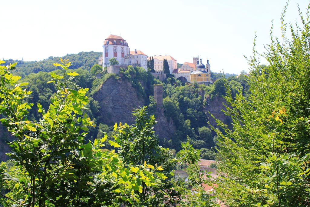 View of Vranov chateaux