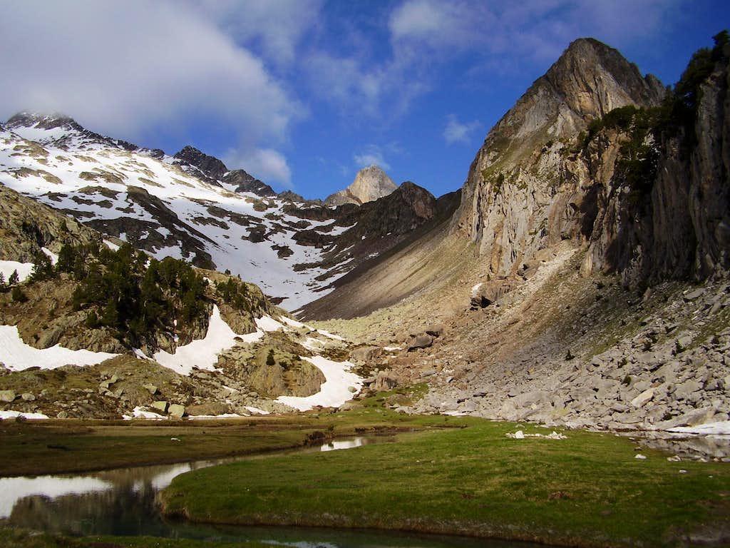 Pico Paderna 2622m.