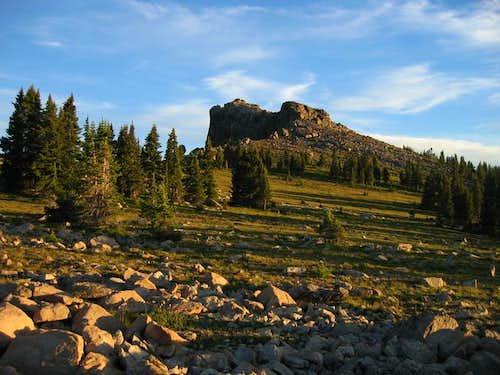 The summit run on Mount...