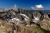 The Three Apostles from Huron Peak
