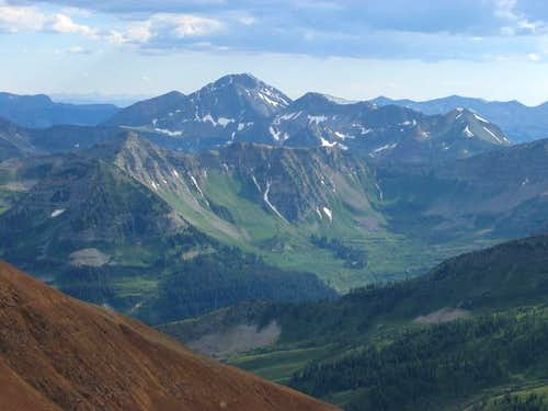 Mount Owens from the summit...