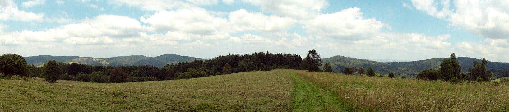 View from the slope of Mount Woltuszowska