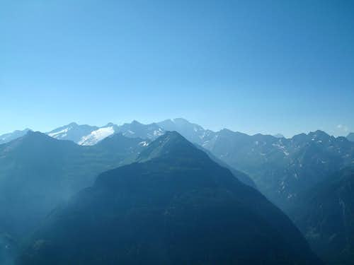 Early morning view to the Ankogel Group