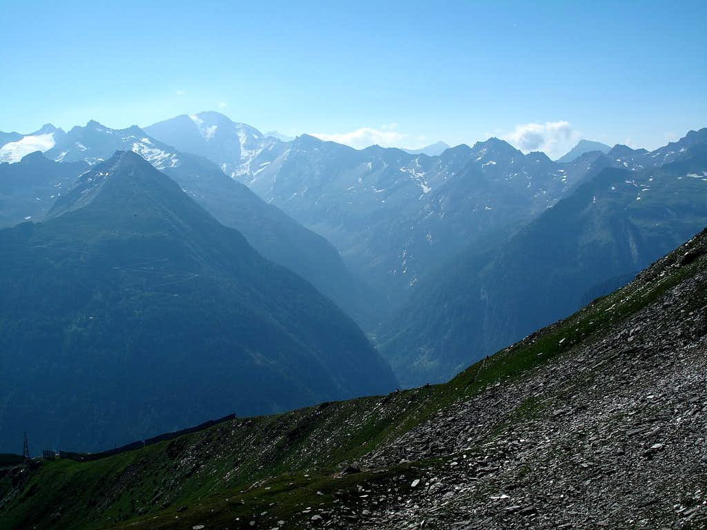 Ankogel and Anlauftal valley