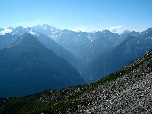 Ankogel and Anlauftal valley