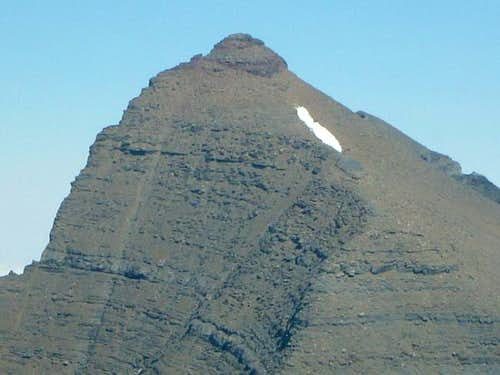 Upper talus section of Mount...