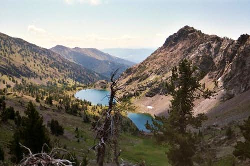 Twin Lakes Basin from the...