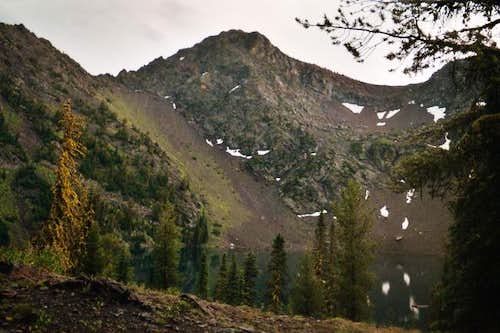 Rock Creek Butte's north and...