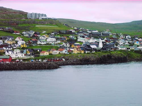 west side of Torshavn