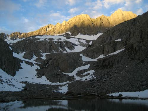 Sunrise on Middle Palisade