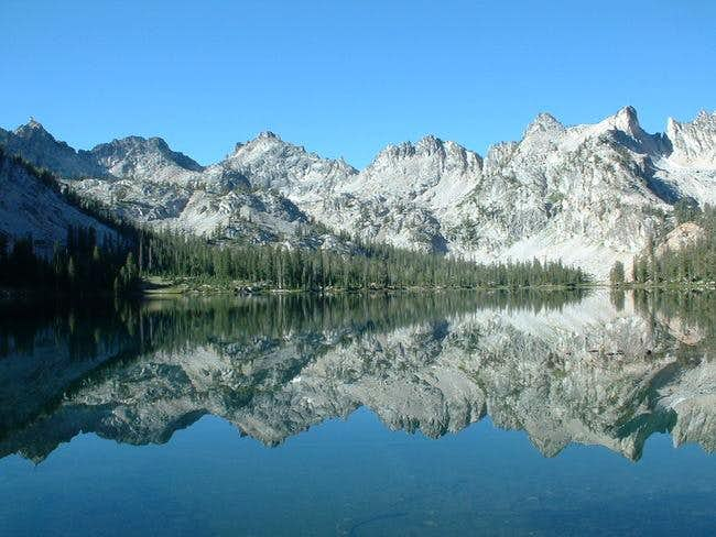 Alice Lake, which we used as...