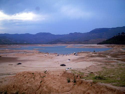 A lake near Islamabad