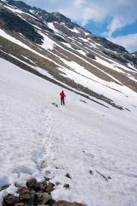 Traversing towards Tellerjoch