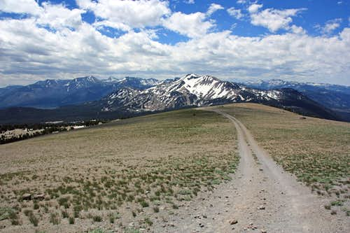 San Joaquin Ridge south  to Mammoth Mtn.