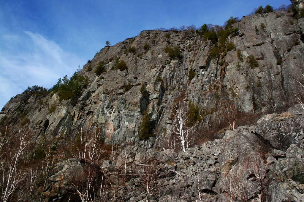 Robertson Lake Cliffs