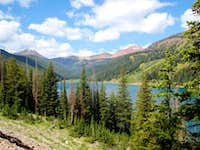 Middle Piney Lake from trail