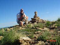 Summit of Monument Peak with Saxon
