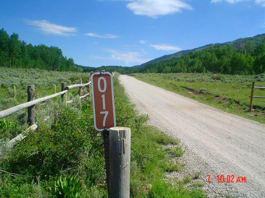 Spoon Creek Road