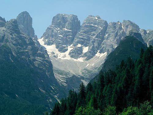 Monte Cristallo from north....