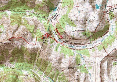 Via Mt. Hope Mine Trail