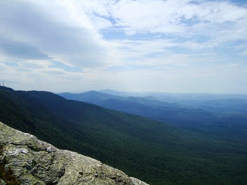 View South from Mt. Mansfield