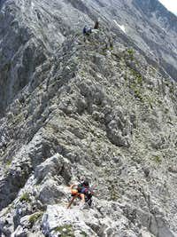 Eiskarlspitze East Ridge Route