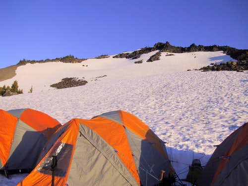 Camp on Mt. Adams
