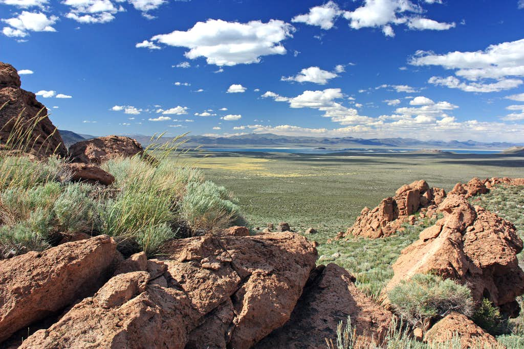 North from the Aeolian Buttes