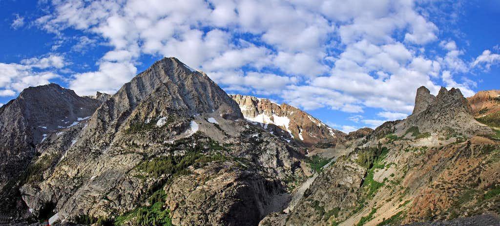 Lee Vining Canyon panorama