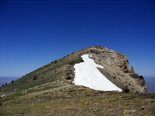 Greys Peak summit - Nevada