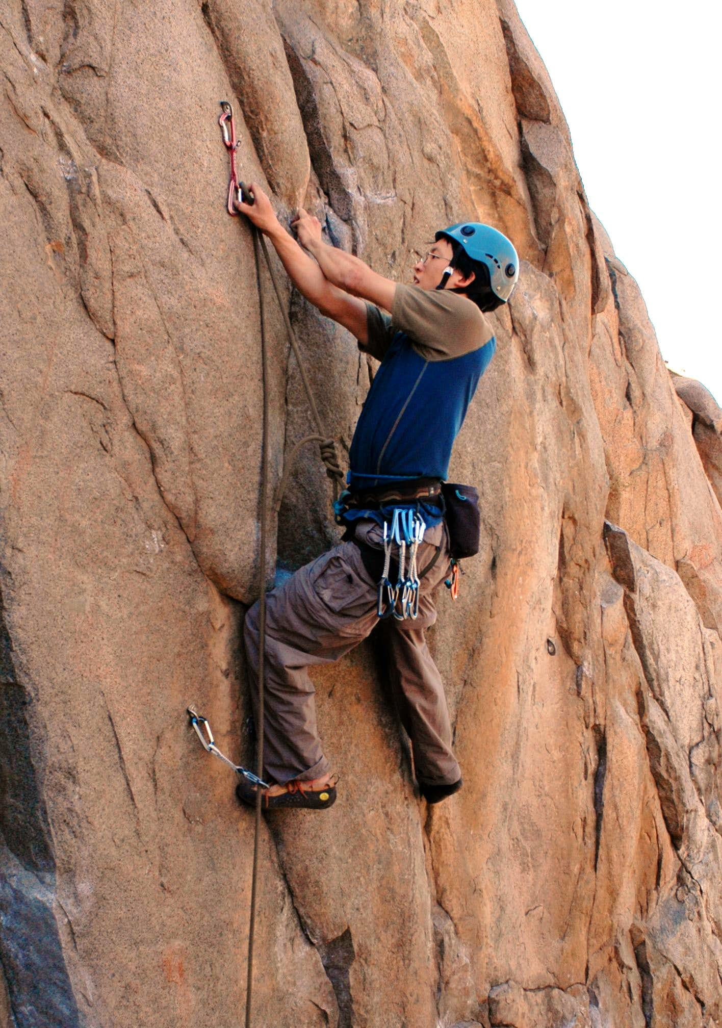 Mission Gorge, San Diego\'s Local Crag