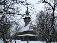 Wooden church at Bârsana