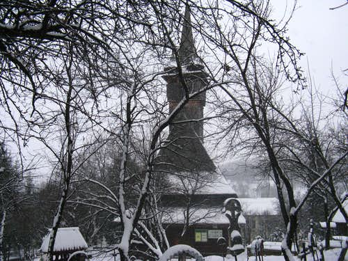 Wooden church at Budeşti