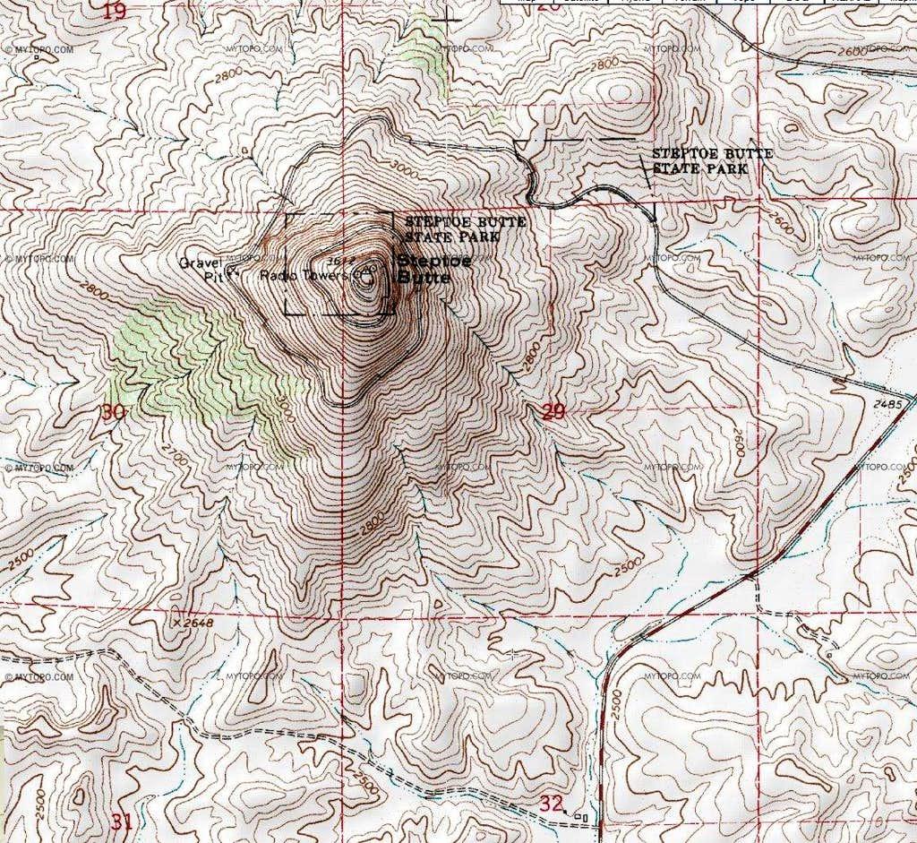 Steptoe Map