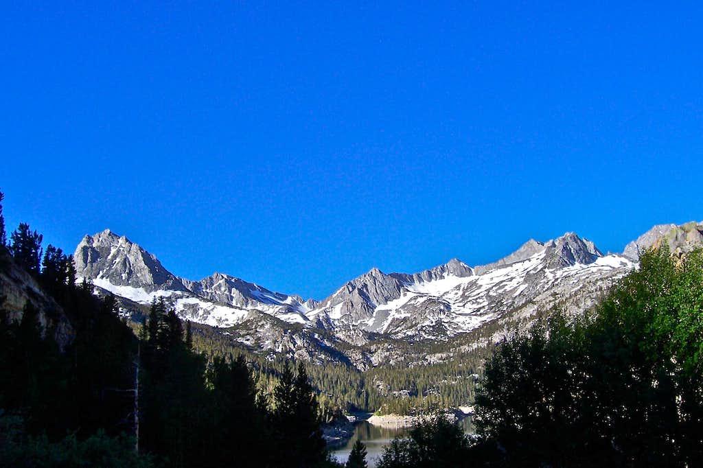 Hurd Peak on the left...