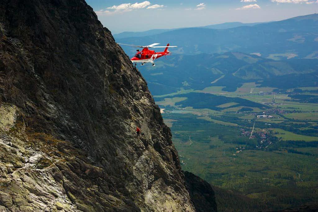 Rescue action in Batizovska valley