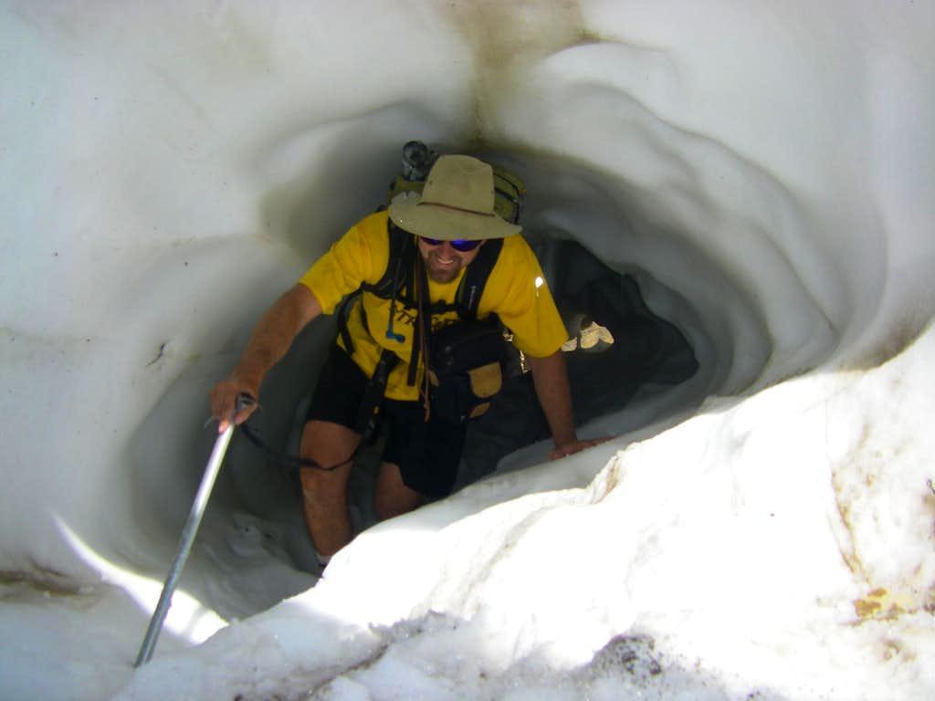 Snow Tunnel under the Grunge