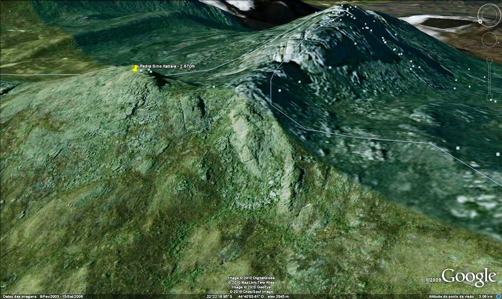Bell Rock from Itatiaia