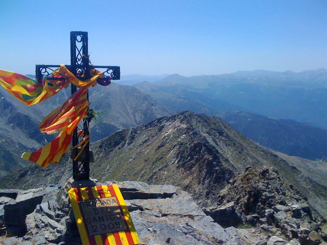 pic du canigou photos diagrams amp topos summitpost