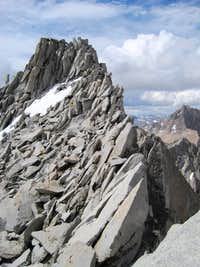 Mount Cotter's summit...