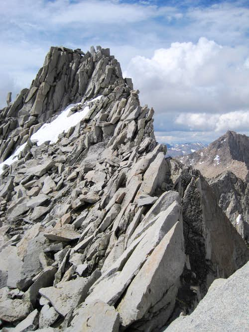 Mount Cotter\'s summit...