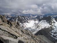 Mount Cotter's south ridge...