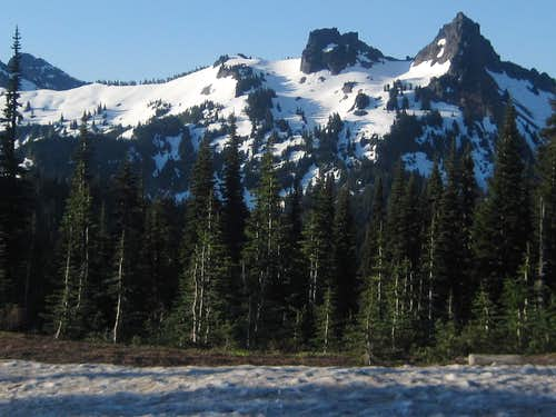 Tatoosh Range from Paradise