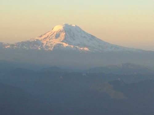 Mount Adams from the top of Disappointment Cleaver