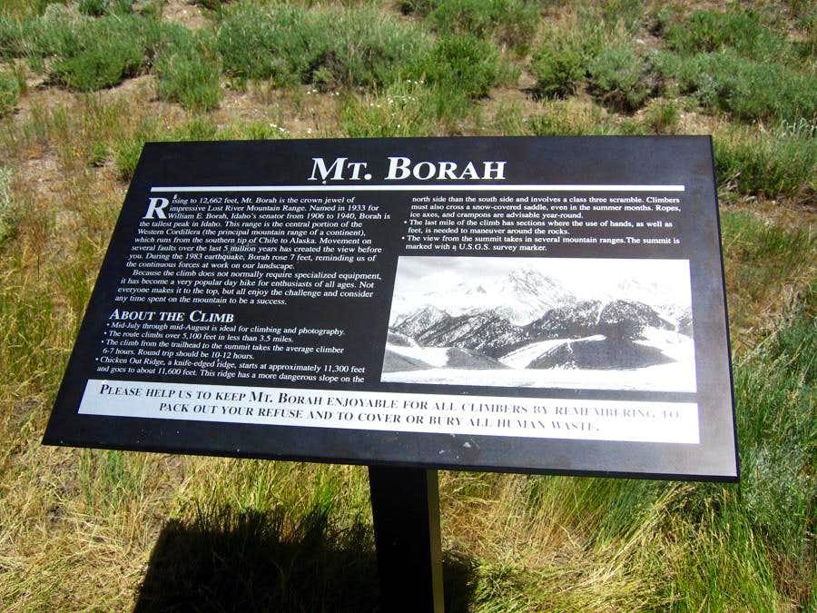Borah Peak Trailhead