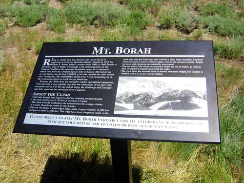 Borah Peak Trailhead