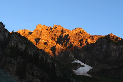 North Maroon Peak at sunrise