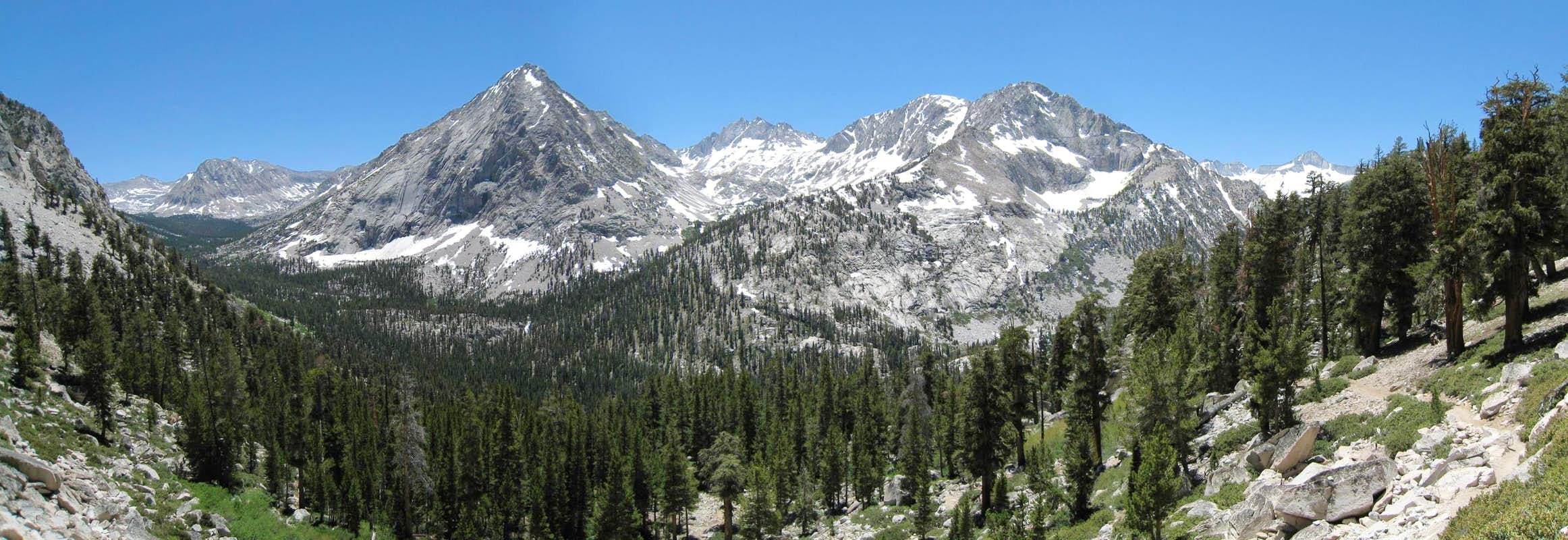 Vidette Canyon from the JMT