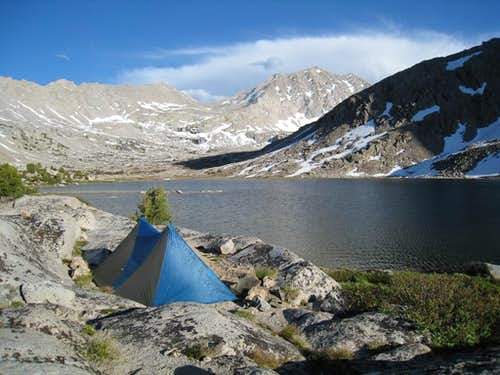 Camp in Center Basin