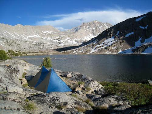 Camp in Center Basin